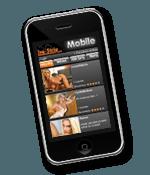 Live-Strip.com funktioniert auch auf dem Handy