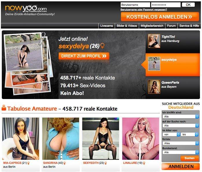 Nowyoo-Amateursex-Startseite