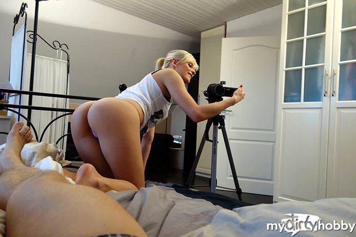 Amateur Girl Schnuggie91 dreht auch mit ihren Fans Pornovideos