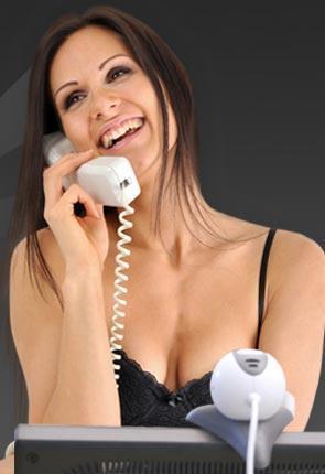 Girl-beim-Telefon-Sex-mit-Cam