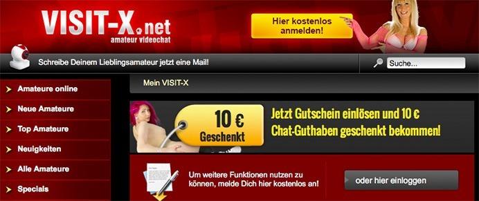 Visit-X 10 Euro Gutschein Code
