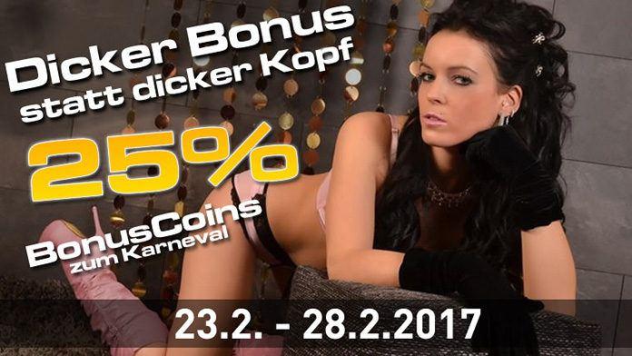 777livecams 25% Bonus-Coins