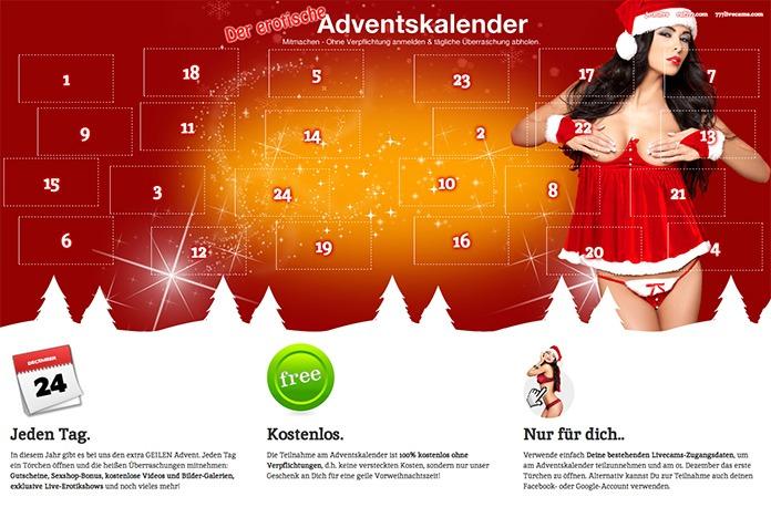 Sexy Adventskalender von 777livecams