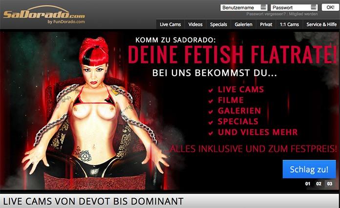 Sadorado Fetisch & BDSM Flatrate Cams